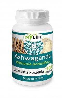 Ashwaganda - ekstrakt z korzenia