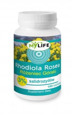 Rhodiola rosea - różeniec górski 3% salidrozydów