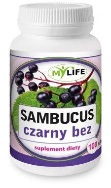 Sambucus czarny bez